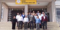 Mesut Çerko  okulları ziyaret etti