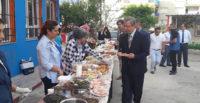 Afrin'de açılacak okullar için kermes