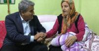 Başkan Yaman yaşlıların yanında