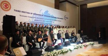 Avrasya Meclis Başkanları Medeniyetler Korosuna Hayran Kaldı
