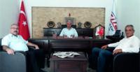 HBGC'DEN HATAY MEŞ'ALE GAZETESİ'NE ZİYARET