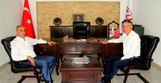 Başkan Yetişen'den  Meş'ale Gazetesine Ziyaret