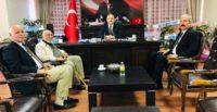Karahan'dan Karamehmetoğlu'na ziyaret