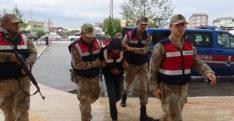 Koca Adliye'ye jandarma üniforması giydirilerek getirildi