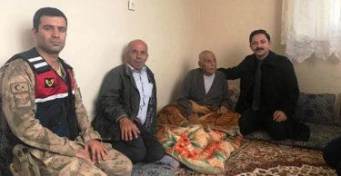 Kaymakam KAYABAŞI, Kore Gazisini Ziyaret Etti