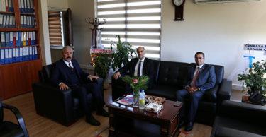 Kemal KARAHAN'dan, Mehmet TECİMEN'e ziyaret