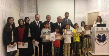 Kaymakam Orhan Mardinli Hatay Bilim ve sanat merkezini ziyaret etti