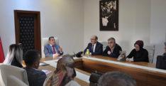 Murat Bulacak, okul müdürleri ile değerlendirme toplantısı yaptı