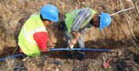 Sarımazı'nın 30 Yıllık İçme Suyu Hattı Yenilendi