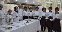 Öğrenciler mutfaktaki hünerlerini sergiledi