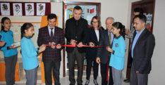 Haymaseki İlkokulu ve Haymaseki Cemal Güler OrtaokuluKütüphane açılışı