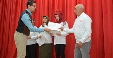 Altınözü'nde sertifika töreni düzenlendi