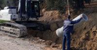Altınözü'nde Yetersiz Gelen Atık Su Hatları Yenileniyor