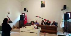 Defne Milliyetçi Hareket Parti İlçe Başkanı Ferit Kaplan Defne Kaymakamlığını ziyaret etti