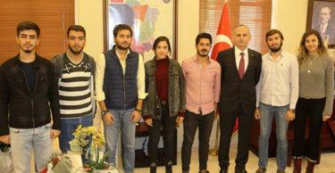 İSTE'li Mucit Öğrencilerden Proje Tanıtım Ziyareti