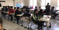 Kaymakam Bulacak, H. İbrahim Evren Anadolu Lisesini ziyaret etti