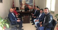 MHP Defne İlçe Yönetimi Nezaket Ziyaretleri Gerçekleştiriyor