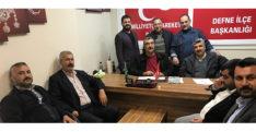 MHP Defne Teşkilatından istişare toplantısı