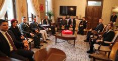 BaroBaşkanı Dönmez, Vali Doğan'ı Ziyaret Etti