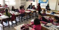 KaymakamMurat Bulacak, Altınçağ Hürriyet İlkokulunu ziyaret etti