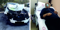 Gazeteci Akyürek  ve eşi kaza geçirdi