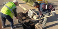 İskenderun'da Çalınan ve Deforme Olan Izgaralar Yenileniyor