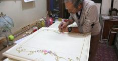 Son Pentür'cü Sanatı İle Göz Kamaştırıyor
