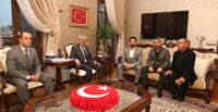 MHP' den Vali Doğan'a Nezaket Ziyareti