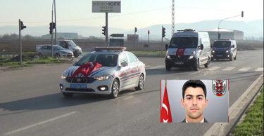 Afrin şehidi İstanbul'a  gönderildi