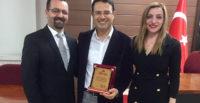 MHP Defne teşkilatı Harbiye Esnaf ve Sanatkârlar Kredi Kooperatifini ziyaret etti