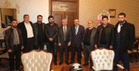 Bayırbucak Türkmenleri, Vali Doğan'ı ziyaret etti
