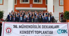 Mühendislik fakültesi dekanları İskenderun'da toplandı