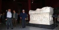 Hatay'da huzurevi sakinleri müzeyi gezdi