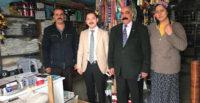 Kaymakam Ercan KAYABAŞI, ilçede bulunan esnafları ziyarette bulundu.