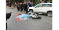 Hafriyat kamyonu motosiklete çarptı: 1 ölü