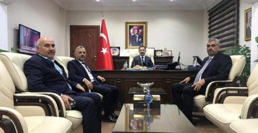 AK Hatay Parti Milletvekili ve Heyeti,Kayamakam Kayabaşı'nı Ziyaret Etti