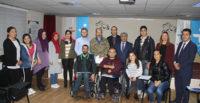 Beceri eğitimi alan engelli vatandaşlara sertifika verildi