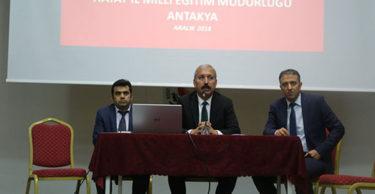 İl Milli Eğitim Müdürü Kemal KARAHAN Antakya İlçesinde Vatandaşla Buluşma Toplantısına Katıldı
