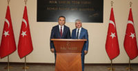 Kilis Valisi Soytürk'ten Vali Doğan'a Ziyaret