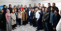 AK Parti Hatay Milletvekili Çelik'in TÜGVA'yı ziyareti