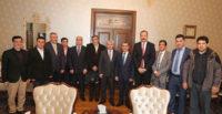 Vali Doğan Türkmen Meclis Başkanını Kabul Etti