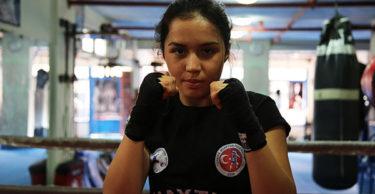 Milli muay thaici Hatice'nin hedefi dünya şampiyonluğu