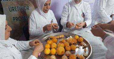 Gastronomi Kenti Hatay Altınözü'nde Turunç Reçeli Üretimi Gerçekleştiriliyor