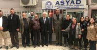 MHP'den ASYAD'a ziyaret