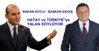 SÜLEYMAN SOYLU'DAN SAVAŞ'A TEPKİ