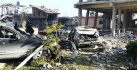Hatay'daki patlamanın ardından ilk görüntüler ortaya çıktı