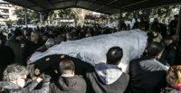 Ukrayna'da öldürülen tıp öğrencisine tören