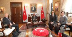 İsviçre'nin Ankara Büyükelçisi Paravicini Hatay'da