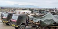 Suriye sınırına askeri araç ve personel sevkiyatı sürüyor