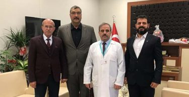 MHP Defne Teşkilatından Bayrakçıoğlu'na 'hayırlı olsun' ziyareti